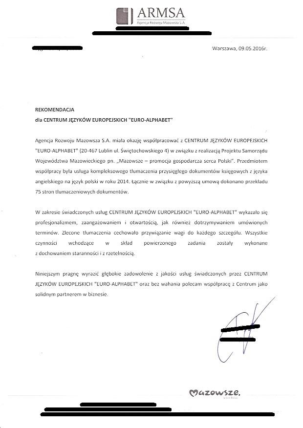 Tłumaczenie uwierzytelnione dokumentacji księgowej 1